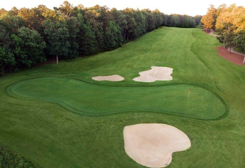 illiamsburg National Jamestown 17th hole